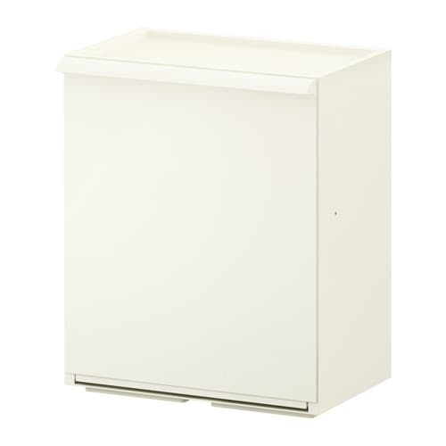 RETUR Waste sorting bin IKEA Practical and flexible shallow-depth waste sorting bin; ideal for limited spaces.