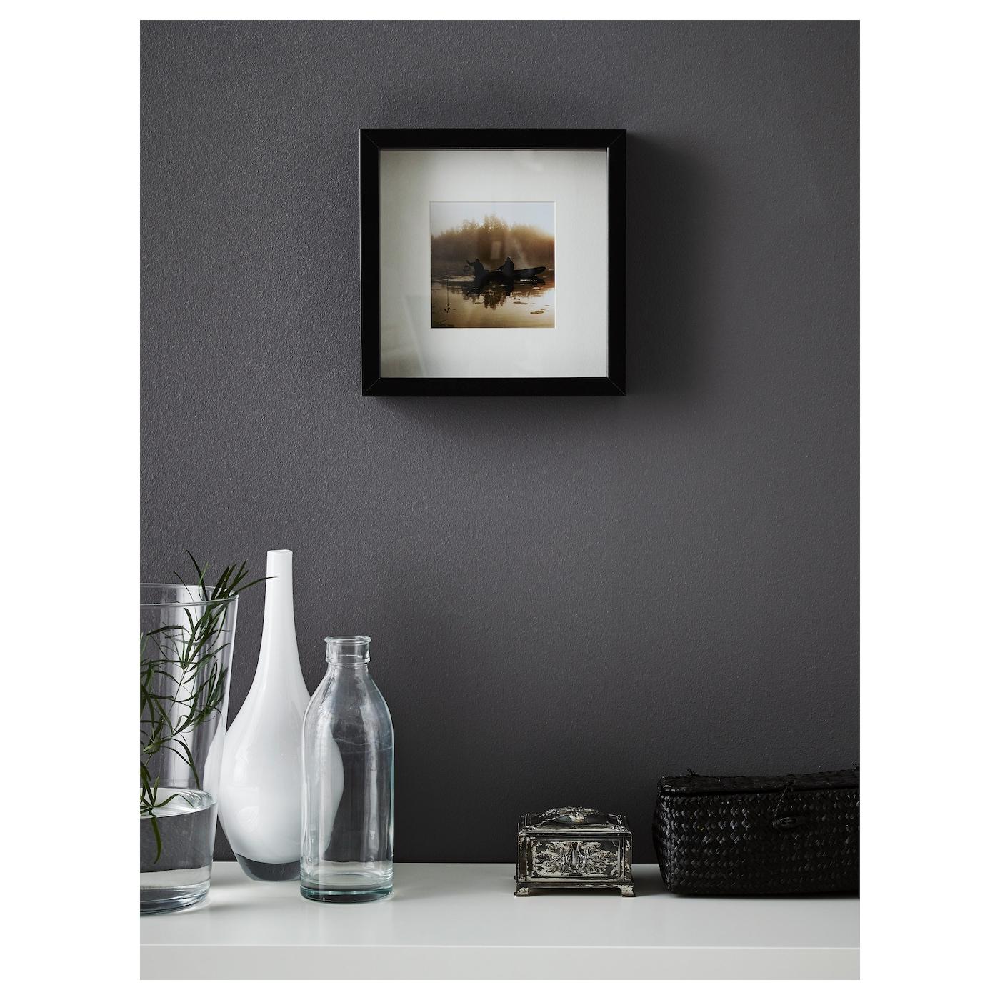 ribba frame black 23 x 23 cm ikea. Black Bedroom Furniture Sets. Home Design Ideas
