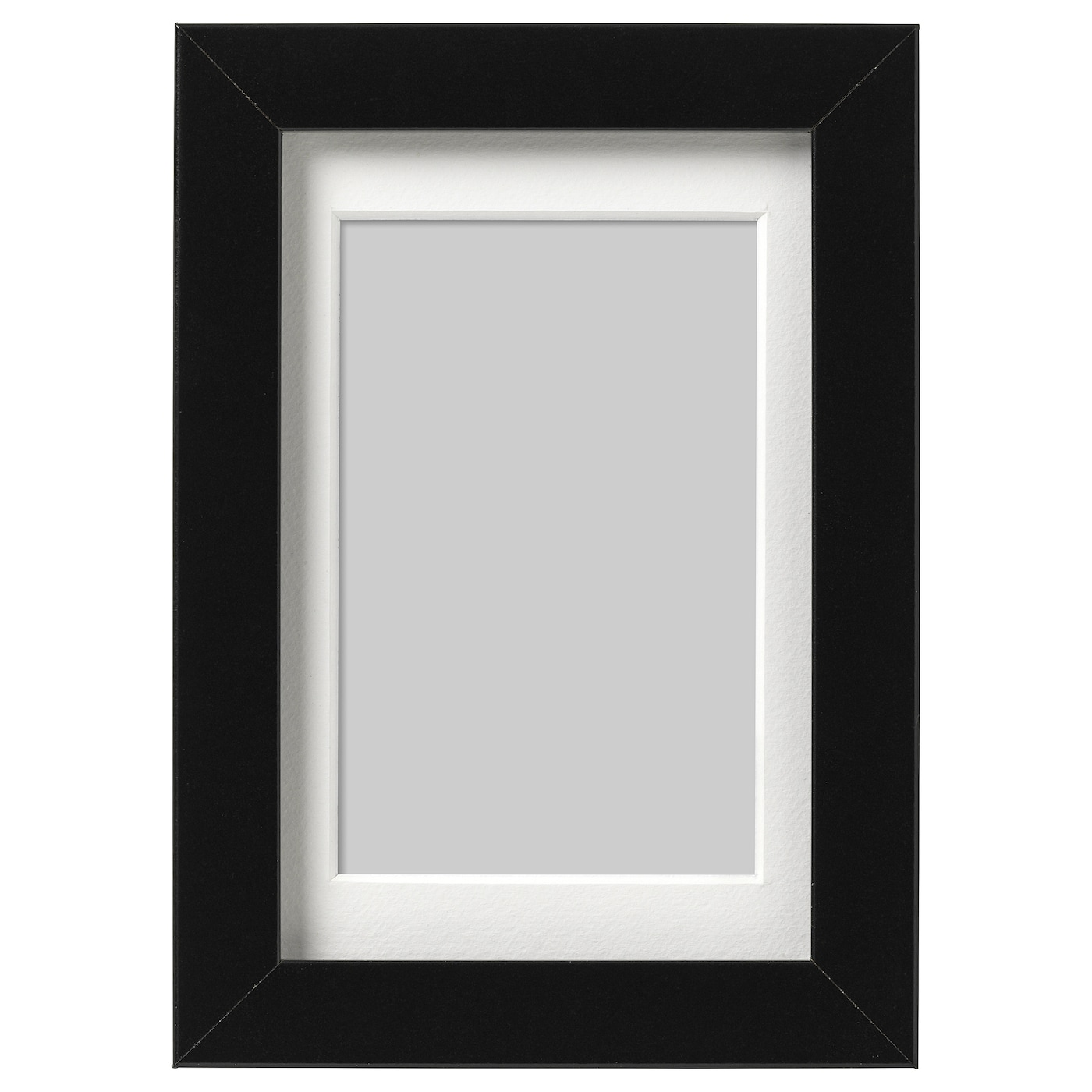 Multi Aperture Lw Picture Photo Black Frame With Black Mount /& Choice Of Sizes