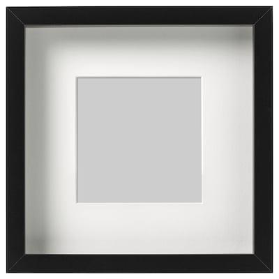 RIBBA frame black 23 cm 23 cm 13 cm 13 cm 12 cm 12 cm 4.5 cm 25 cm 25 cm