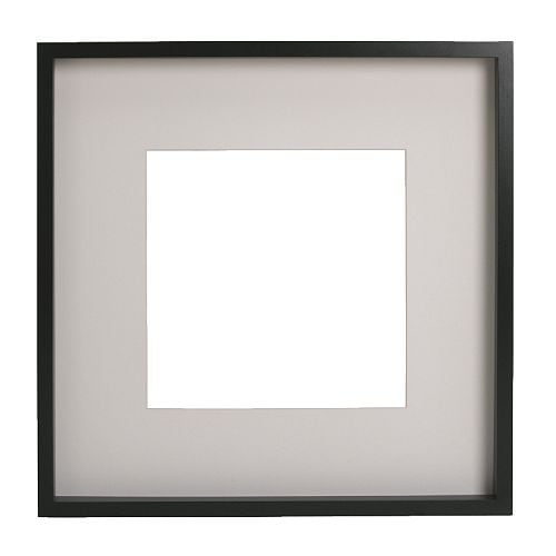 Ribba frame black 50x50 cm ikea for Ikea frame sizes australia