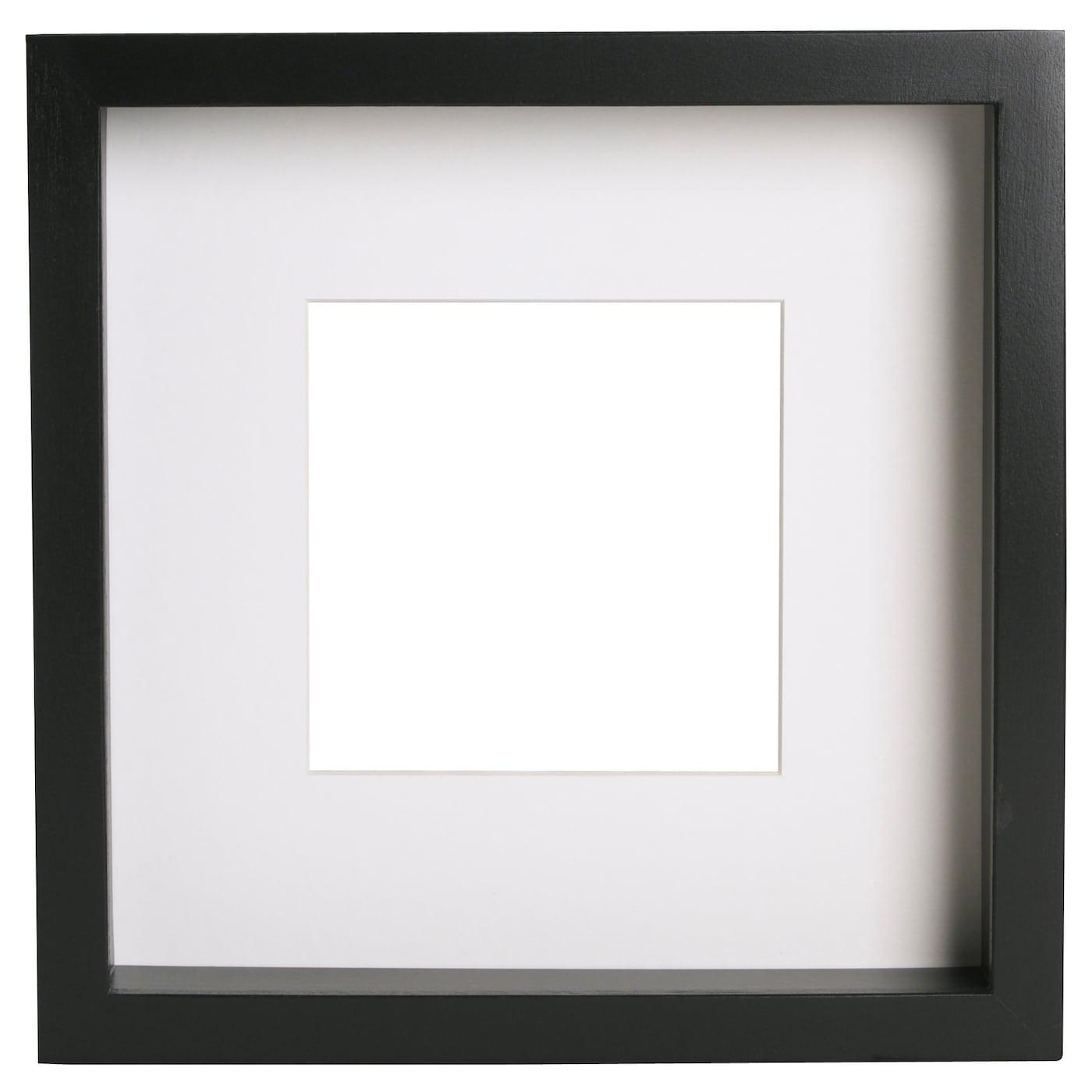 RIBBA Frame Black 23 x 23 cm - IKEA