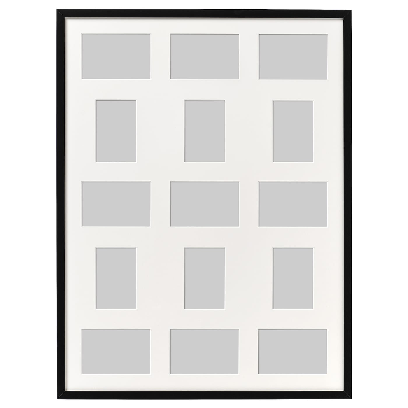 RIBBA Frame for 15 pictures Black 60 x 80 cm - IKEA