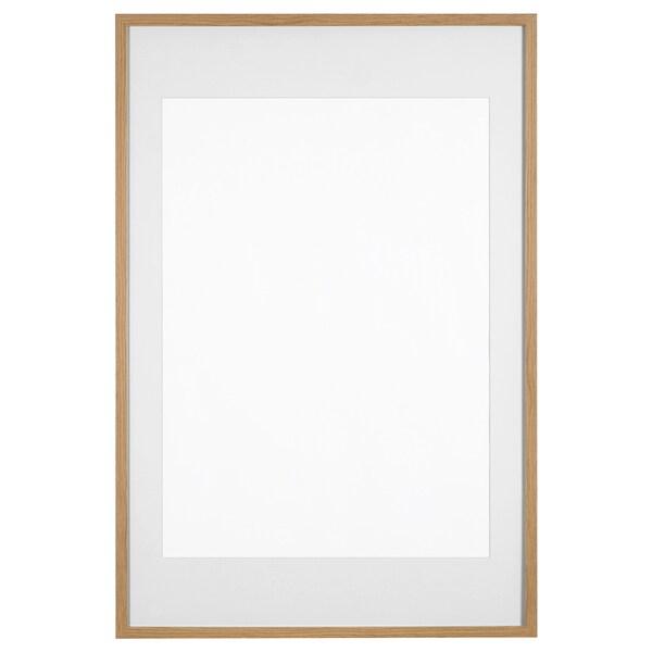 Ribba Oak Effect Frame 61x91 Cm Ikea