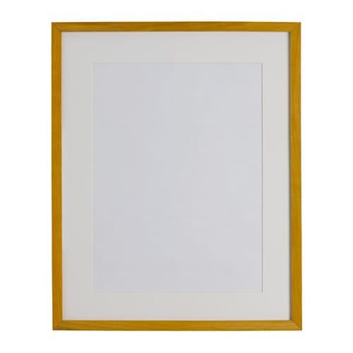 Ribba Frame Oak Effect 40 X 50 Cm Ikea