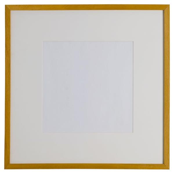 RIBBA Frame, oak effect, 50x50 cm