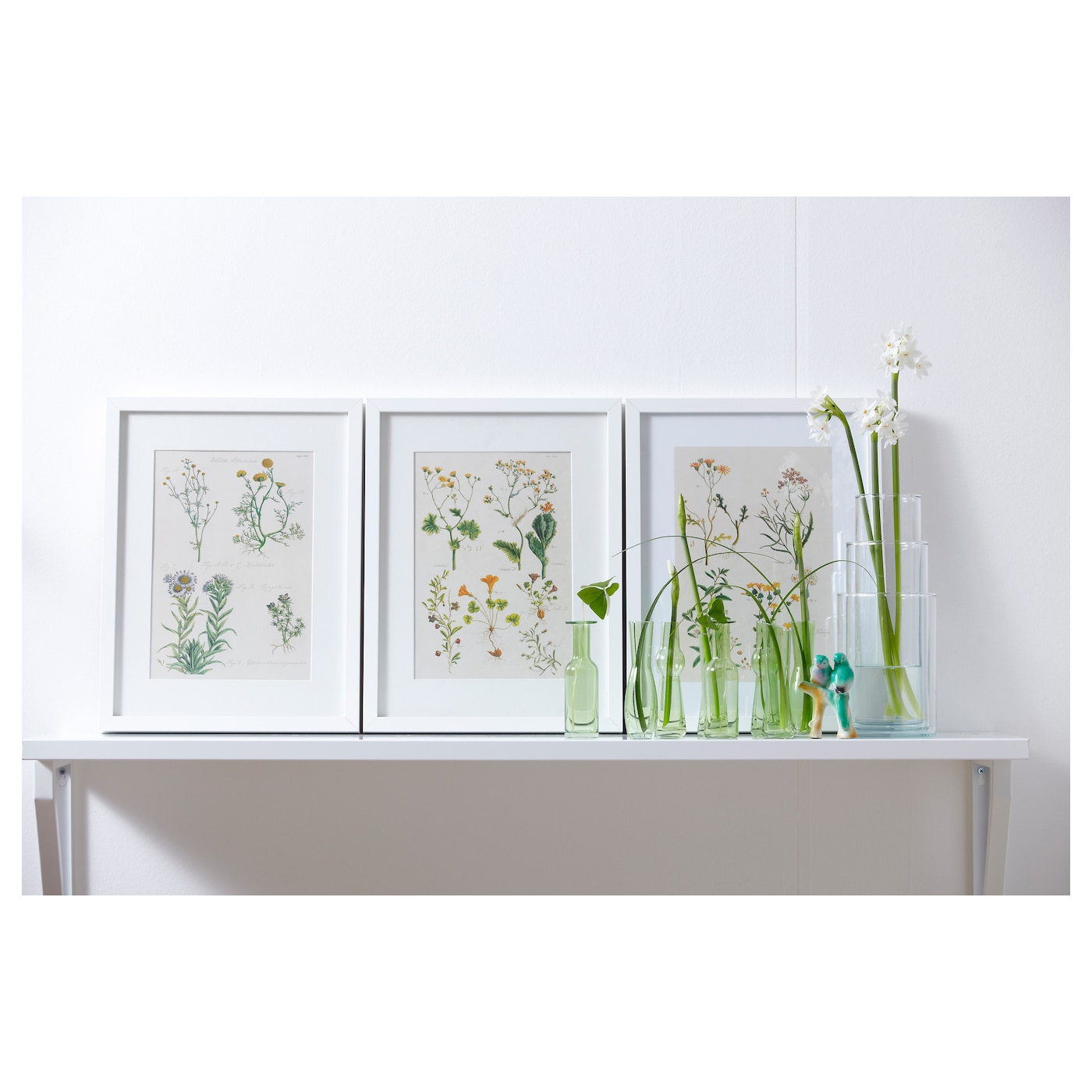 Ribba frame white 30x40 cm ikea for Ikea ribba weiay