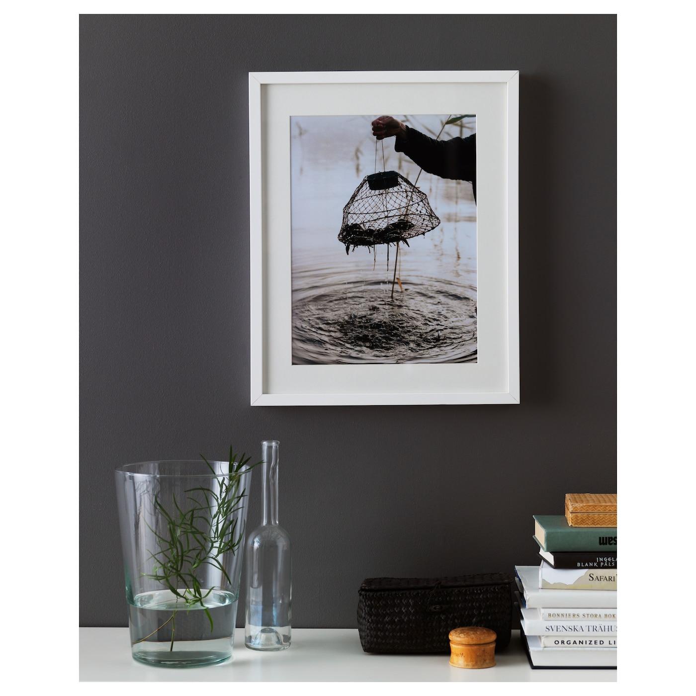 ribba frame white 40x50 cm ikea. Black Bedroom Furniture Sets. Home Design Ideas