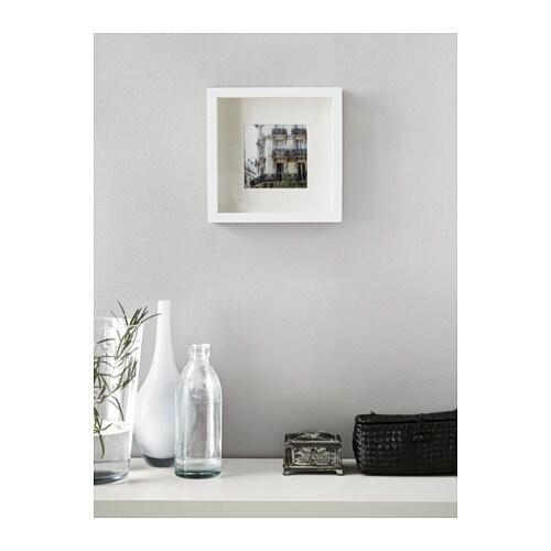 Ribba frame white 23x23 cm ikea - Cadre photo design ikea ...