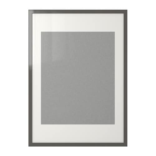 RIBBA Frame IKEA You can enhance and add depth to your picture by using the accompanying mount when you frame it.