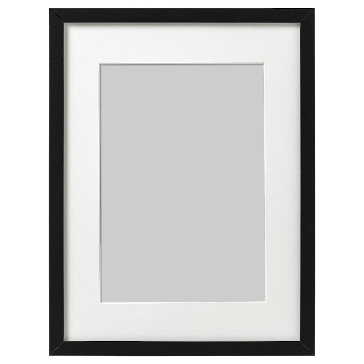 Ribba Frame Black Ikea