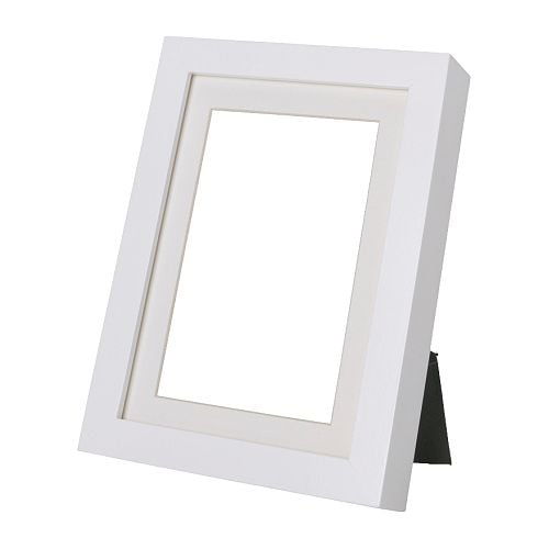 RIBBA Frame IKEA The mount enhances the picture and makes framing easy.  PH-neutral mount; will not discolour the picture.