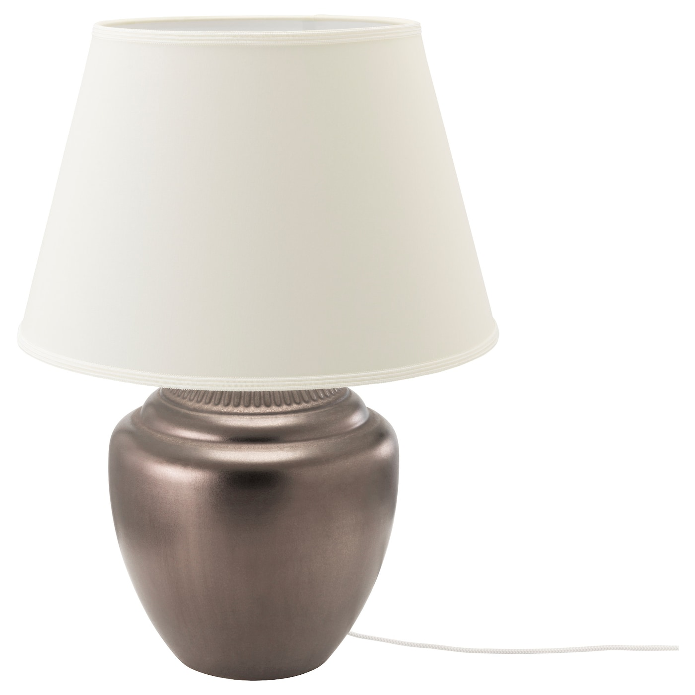 IKEA RICKARUM table lamp Creates a soft, cosy mood light in your room.