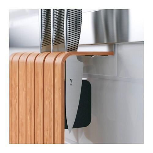 rimforsa knife holder bamboo 20x24x7 cm ikea. Black Bedroom Furniture Sets. Home Design Ideas