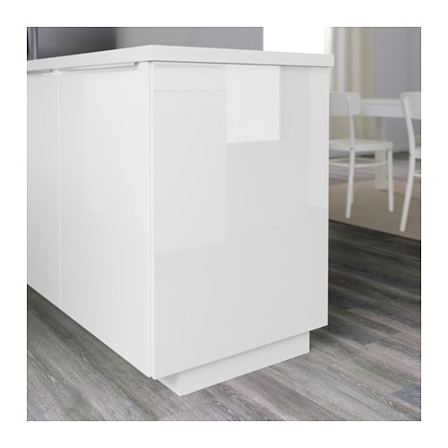 RINGHULT Cover panel High gloss white 39×86 cm  IKEA