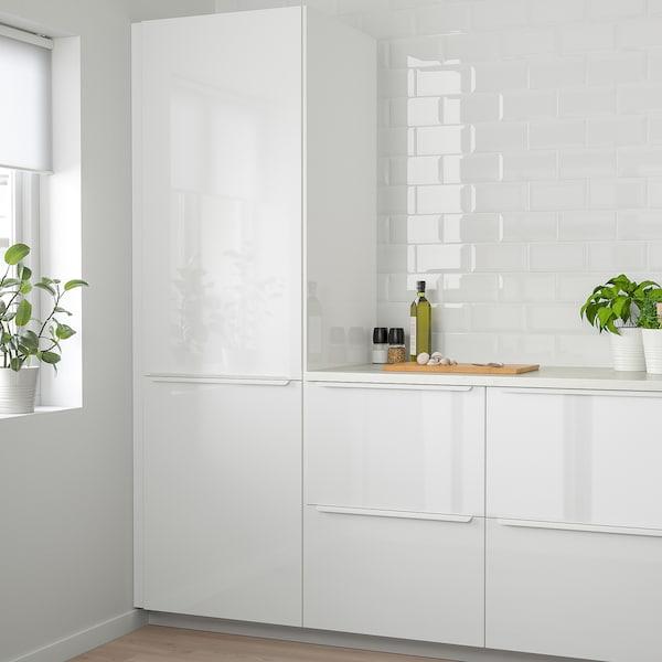 RINGHULT Door, high-gloss white, 30x80 cm