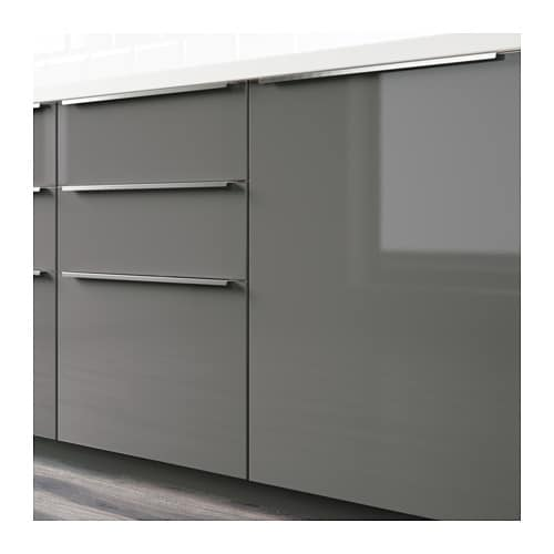 RINGHULT Drawer front High gloss grey 60×40 cm  IKEA