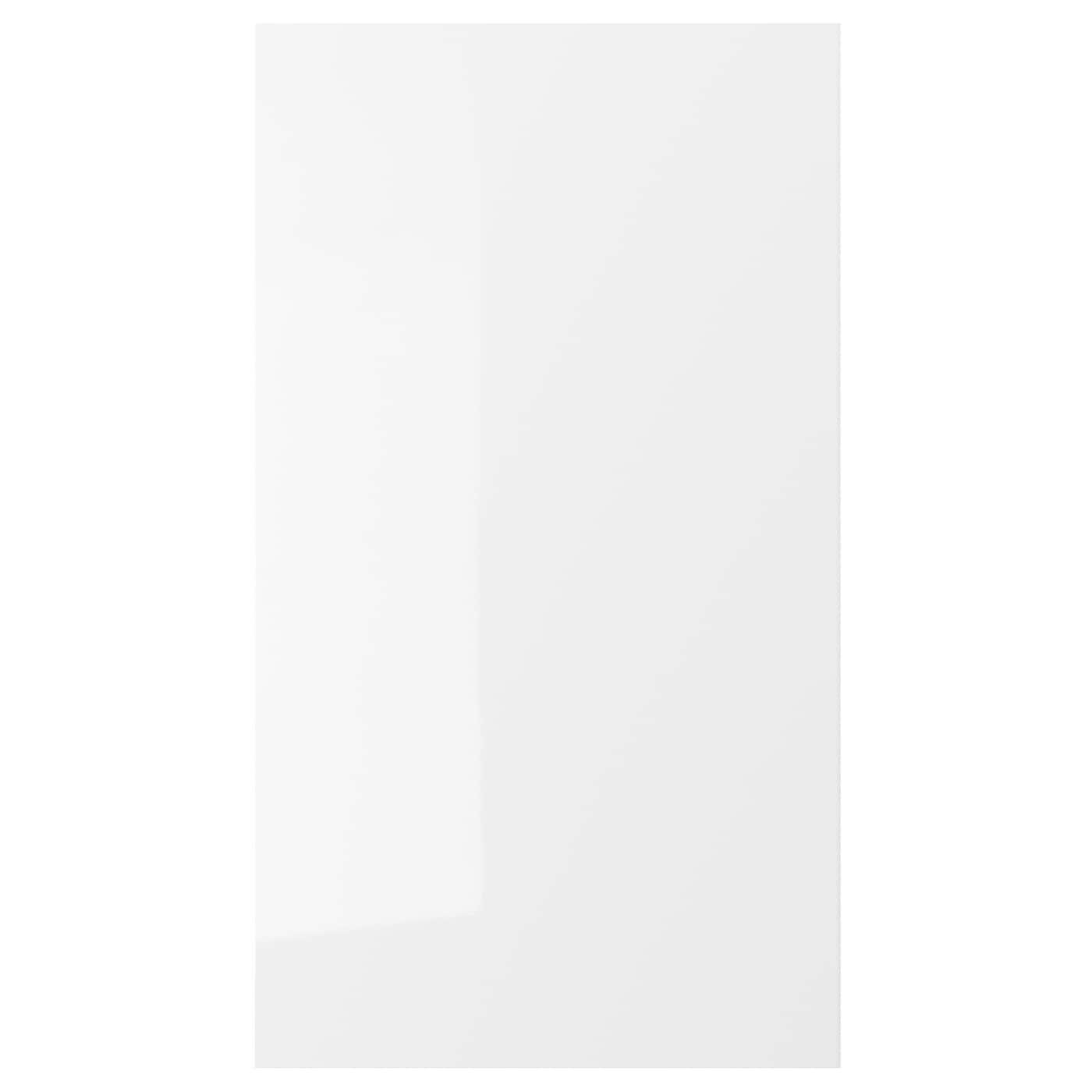 Ringhult Door High Gloss White 60 X 80 Cm: RINGHULT Front For Dishwasher High-gloss White 45 X 80 Cm