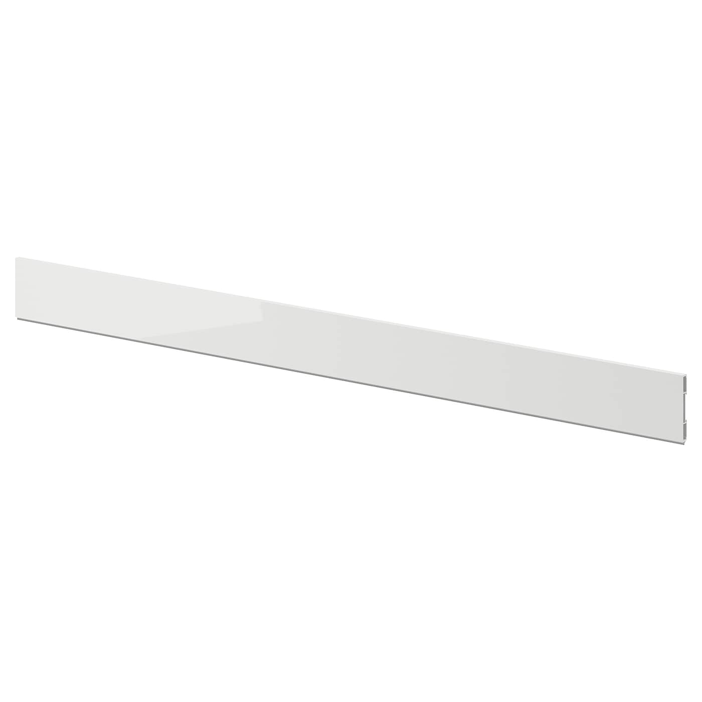 IKEA RINGHULT plinth Covered with high-gloss foil; gives an easy care finish.