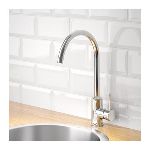 RINGSKÄR Single-lever kitchen mixer tap Chrome-plated - IKEA