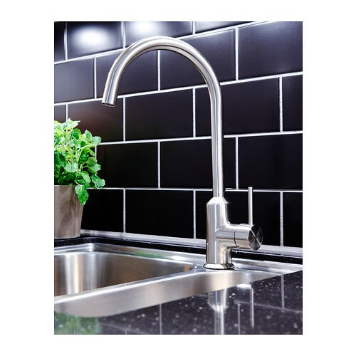 ringsk r single lever kitchen mixer tap stainless steel. Black Bedroom Furniture Sets. Home Design Ideas