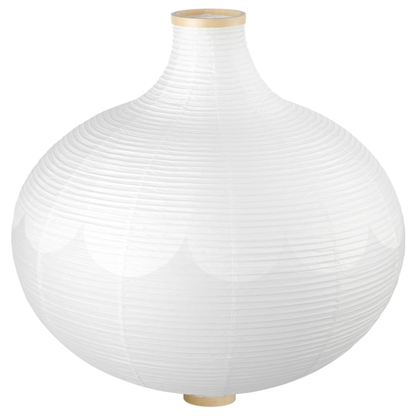 RISBYN Pendant lamp shade, onion shape/white, 57 cm