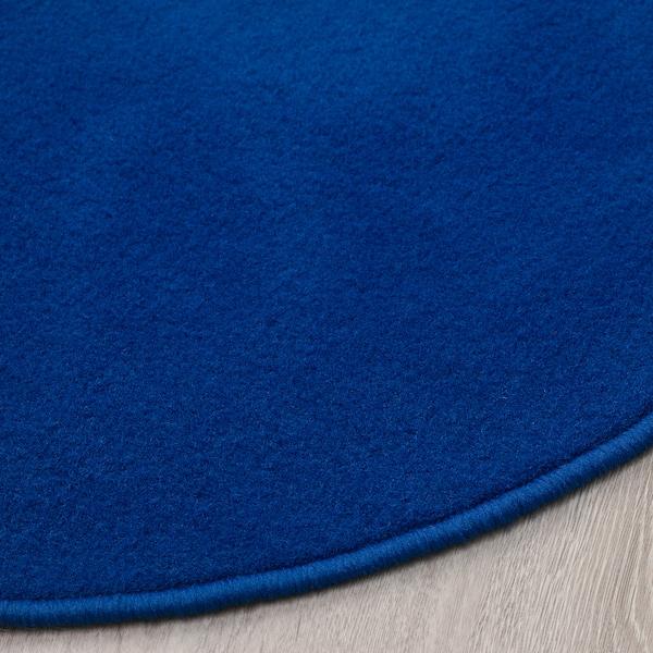 RISGÅRDE Rug, low pile, blue, 70 cm