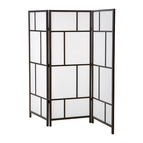 RISÖR Room divider IKEA Solid wood, a hardwearing natural material.  Practical screen and room divider.  Foldable - saves space when not in use.