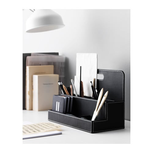 RISSLA Desk Organiser Black