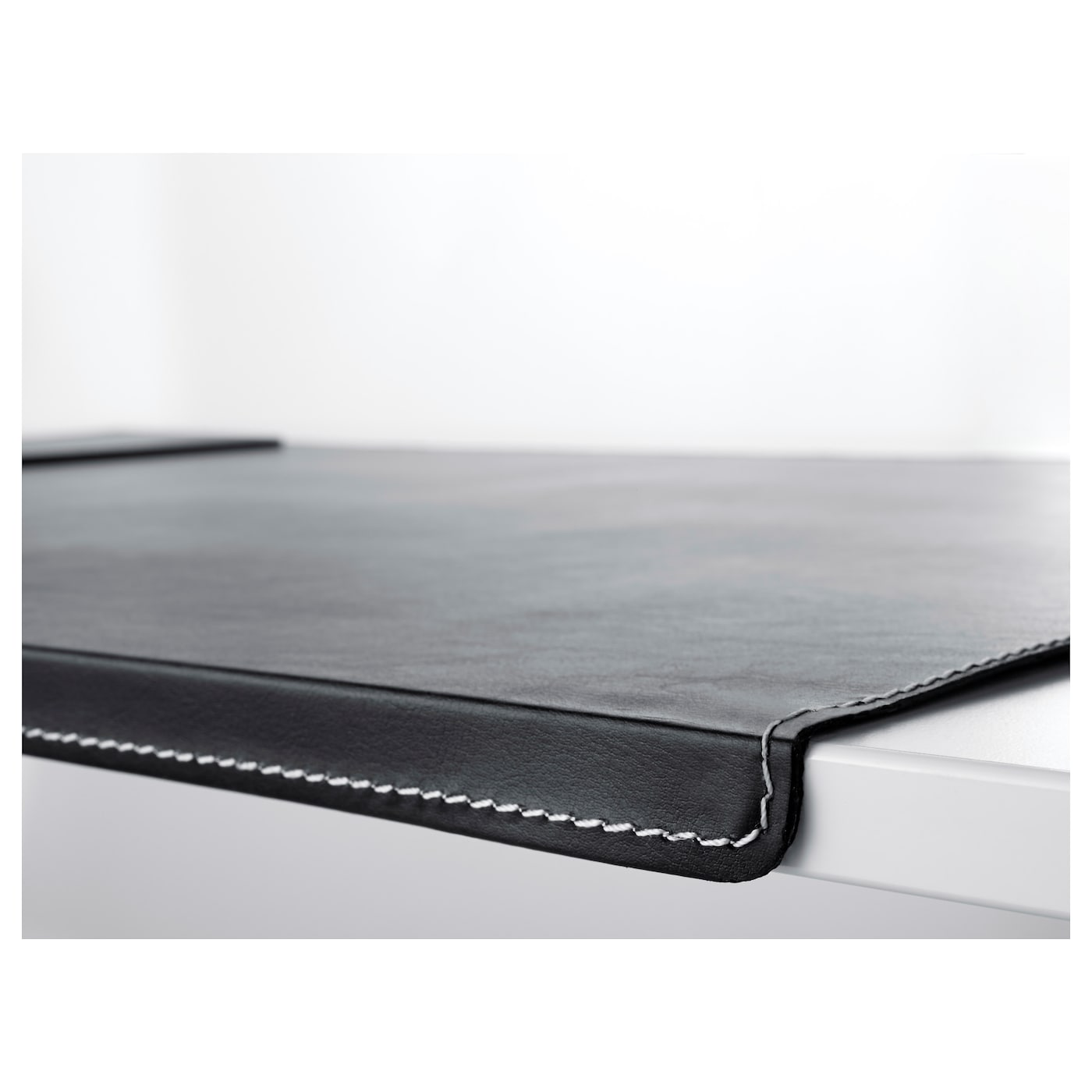 Great IKEA RISSLA Desk Pad The Bent Front Edge Keeps The Desk Pad In Place. Images