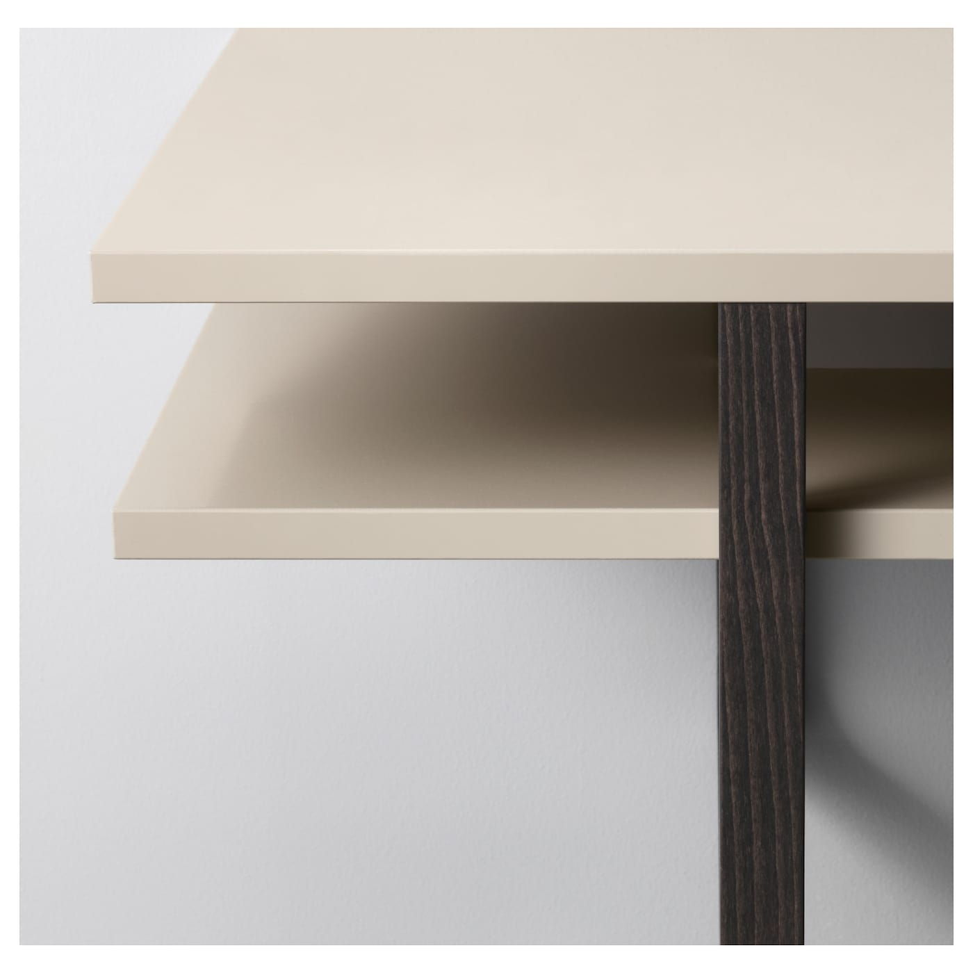 RISSNA Coffee table Beige 160x55 cm IKEA