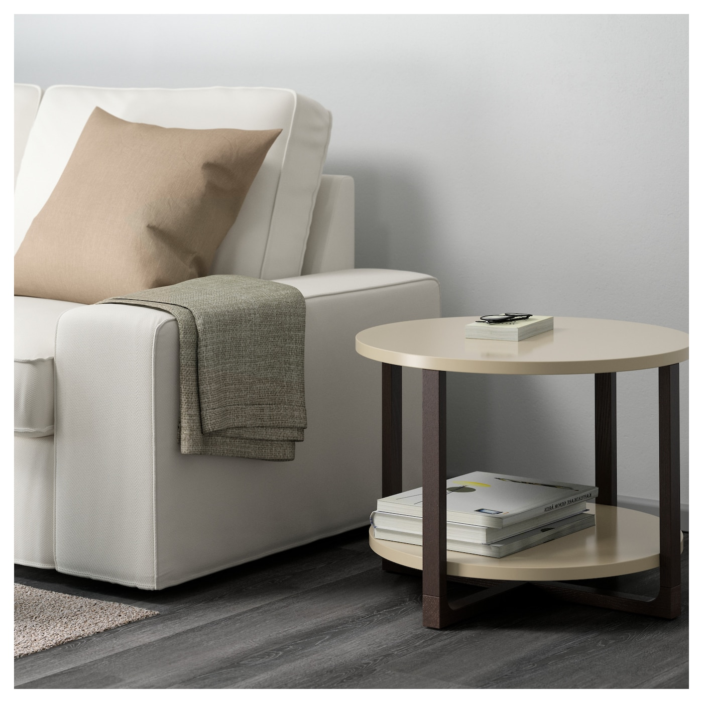 Ikea Coffee Table Material: RISSNA Side Table Beige 60 Cm