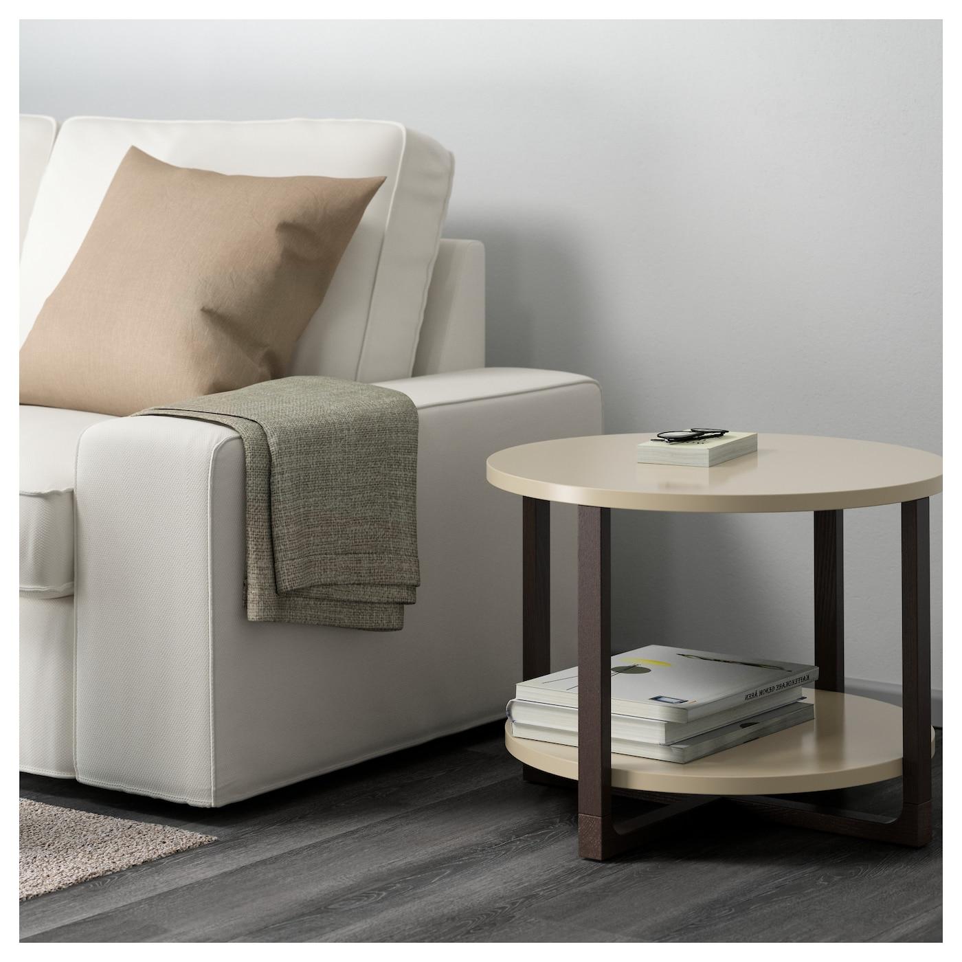 RISSNA Side table Beige 60 cm IKEA
