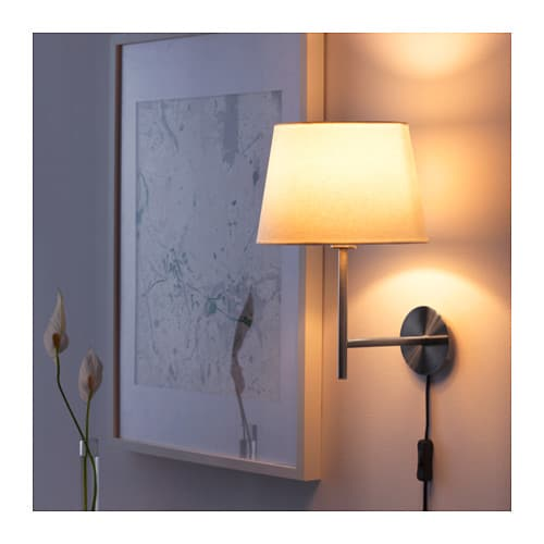Make Wall Lamp Shades : RODD Wall lamp Nickel-plated - IKEA