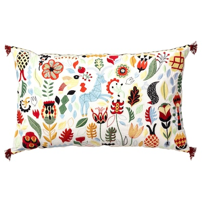 RÖDARV cushion multicolour 40 cm 65 cm 900 g 1340 g