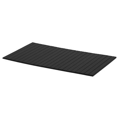 RÖDEBY Armrest tray, black