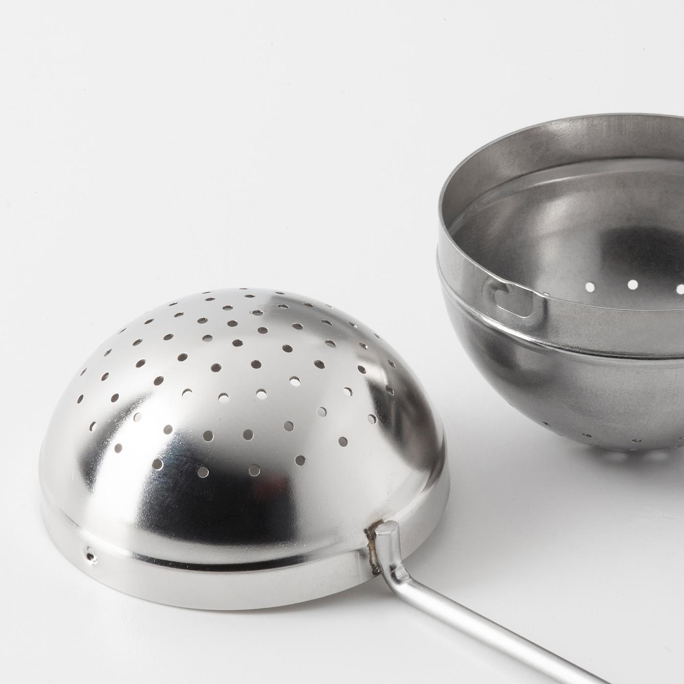 RÖRELSER stainless steel, Tea infuser