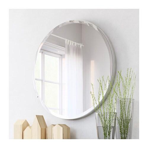 Ronglan Mirror Aluminium 80 Cm Ikea