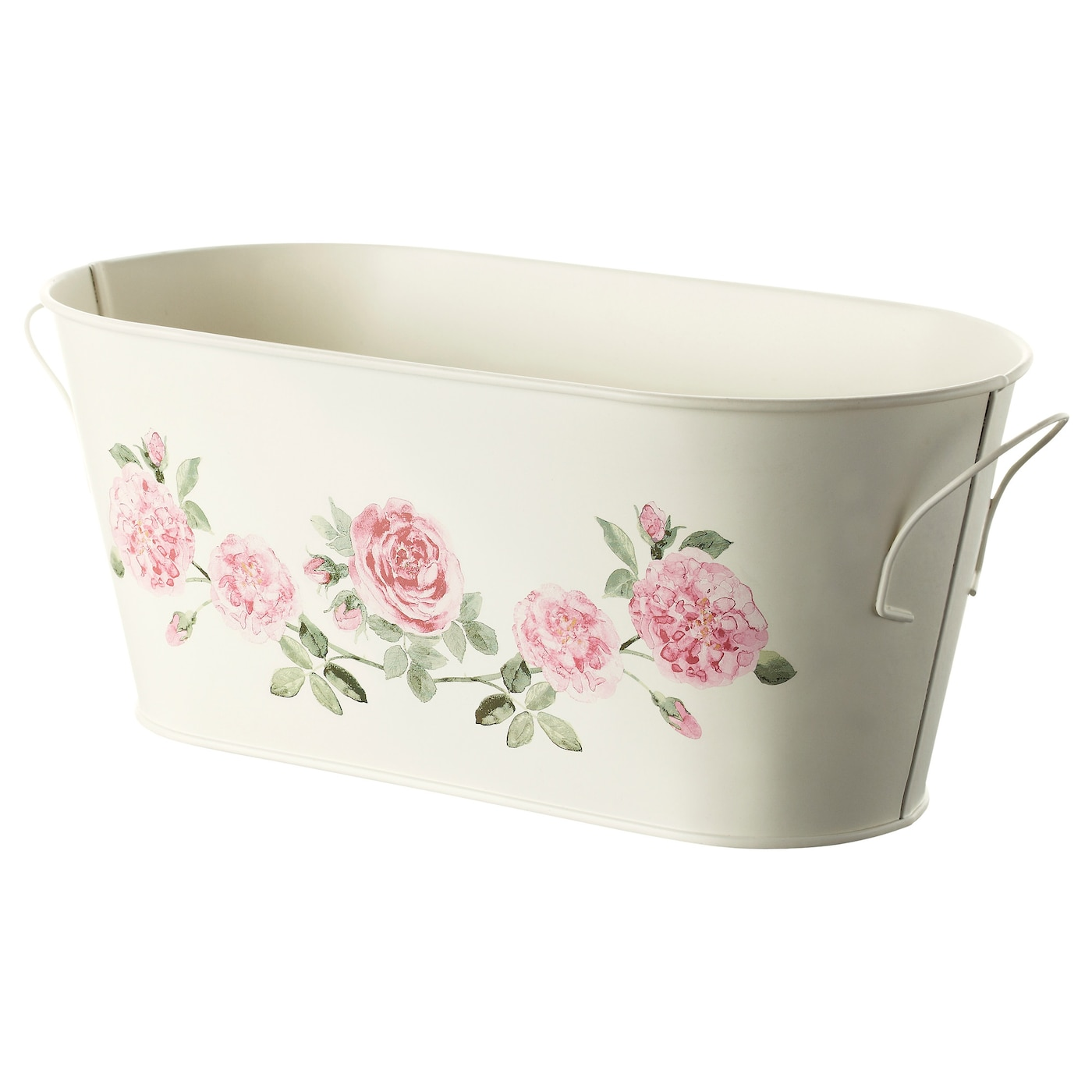 IKEA ROSÉPEPPAR plant pot with handles