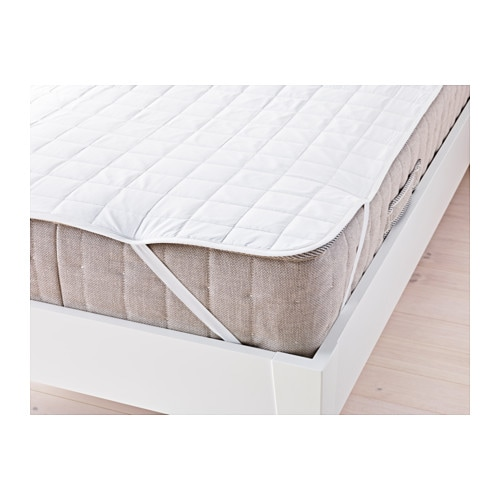 rosendun mattress protector double ikea. Black Bedroom Furniture Sets. Home Design Ideas