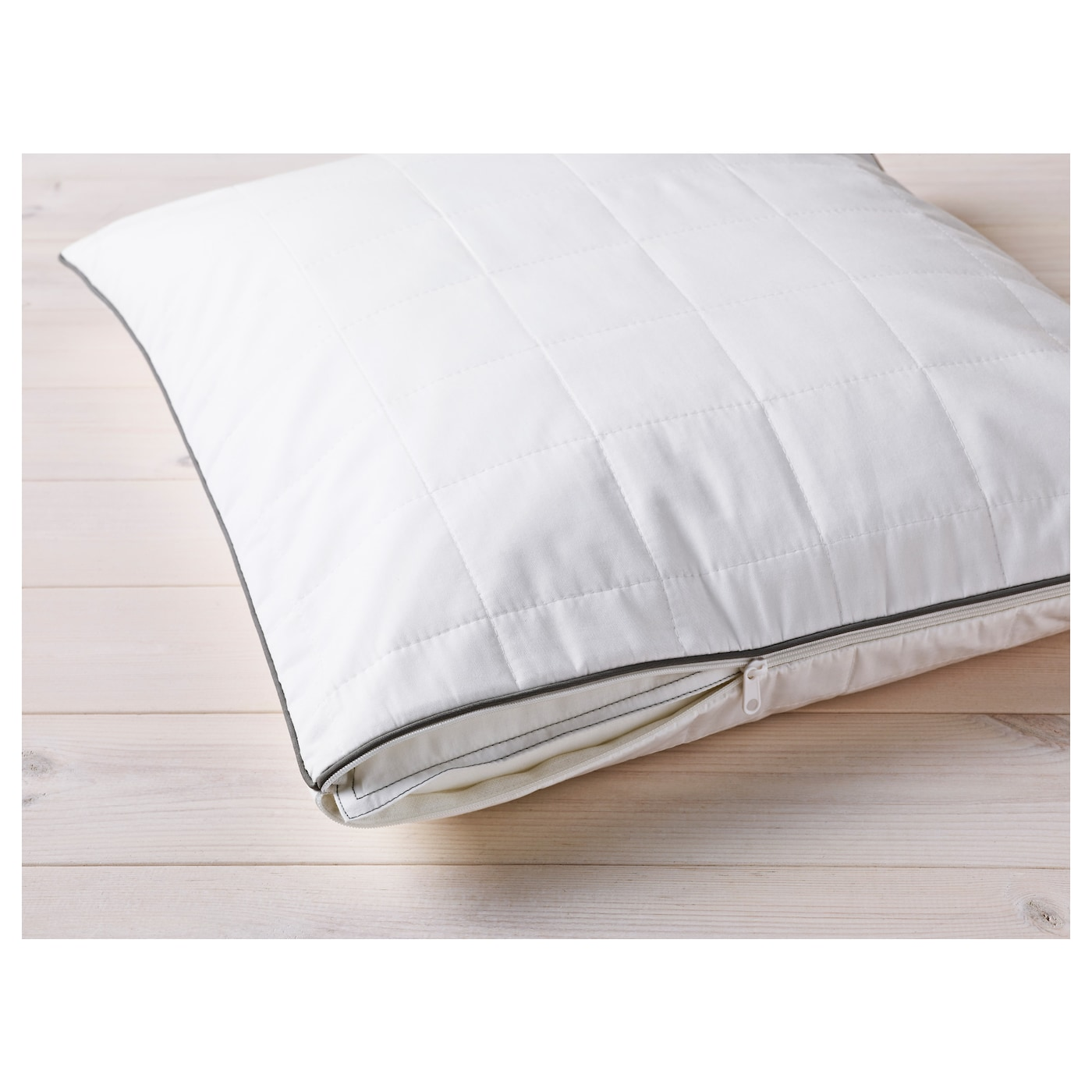 IKEA ROSENDUN pillow protector Protects from stains and dirt and prolongs the life of your pillow.