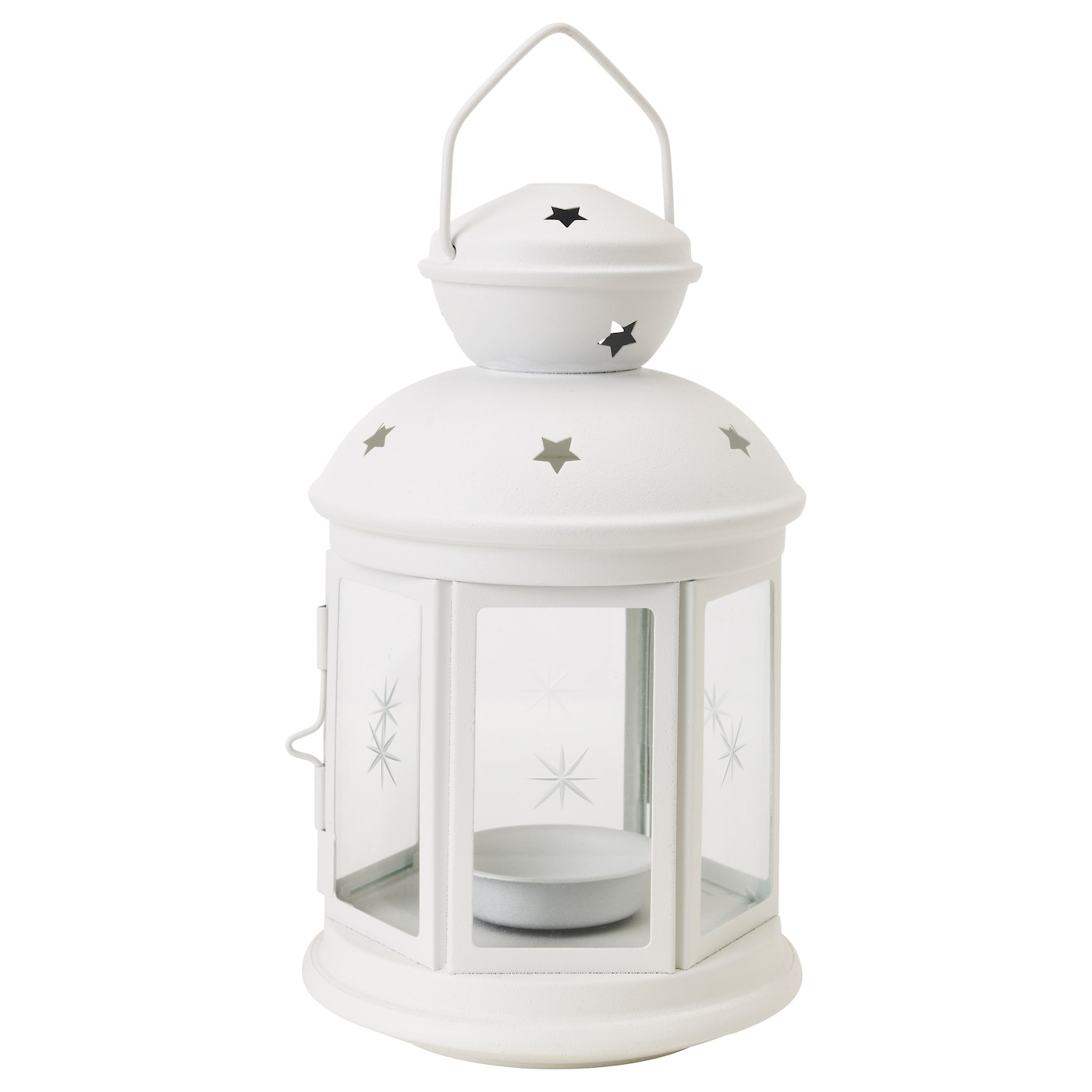 Rotera lantern for tealight in outdoor white 21 cm ikea - Lanterne portacandele ikea ...