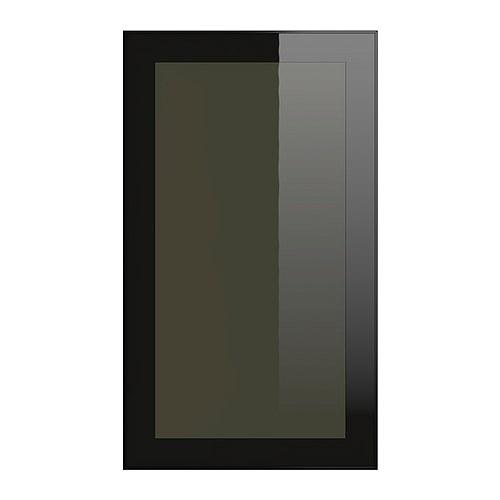 smoked glass doors