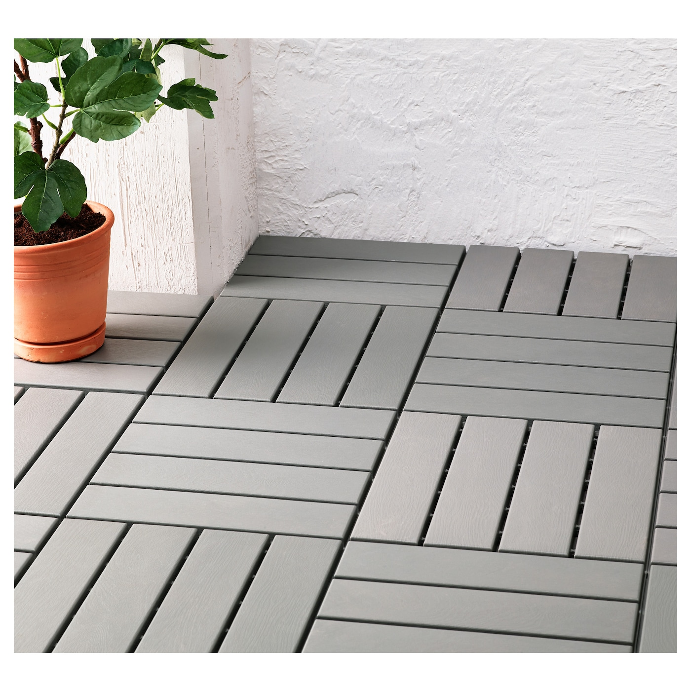 IKEA RUNNEN Floor Decking Outdoor Makes It Easy To Refresh Your Terrace Or