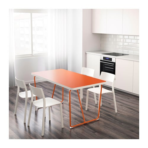 RYDEBÄCK Table Orangebackaryd orange 150×78 cm  IKEA