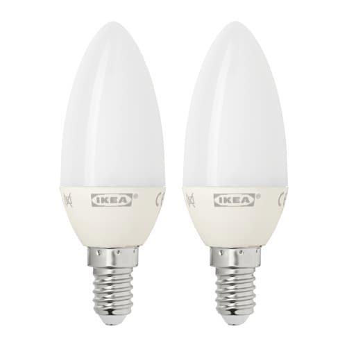... IKEA RYET LED bulb E14 200 lumen ...