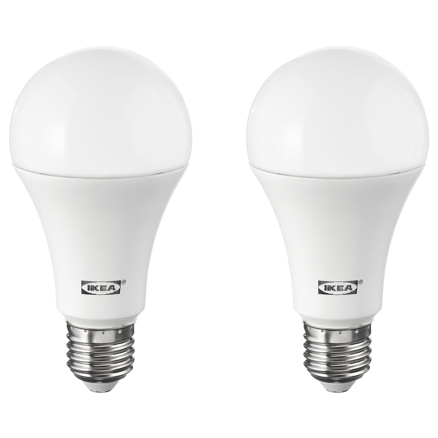 Light Bulbs Led Accessories Ikea Diagram See Image Comparing A Regular Bulb And Fluorescent Ryet E27 1600 Lumen