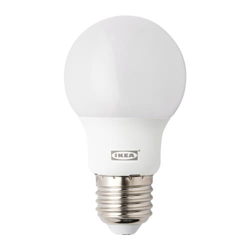 ryet led bulb e27 400 lumen globe opal white ikea. Black Bedroom Furniture Sets. Home Design Ideas
