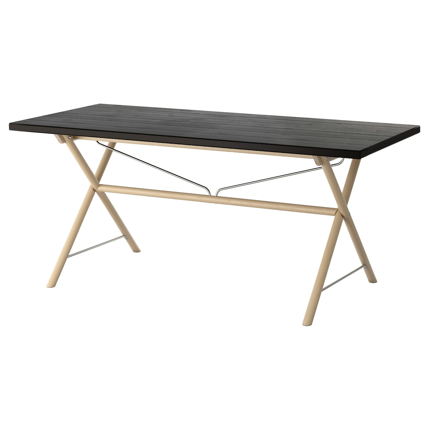 Ryggestad table black dalshult birch 170x78 cm ikea for Table cuisine 80 x 60