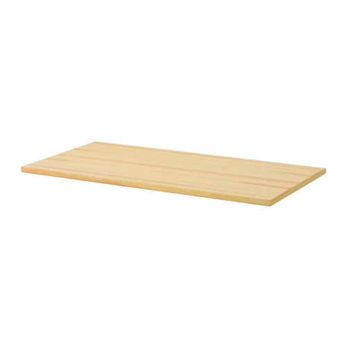 Ryggestad table top pine 170x78x3 5 cm ikea for Pine desk ikea